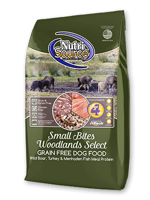 NutriSource®  Small Bites Woodlands Select Grain Free Dog Food