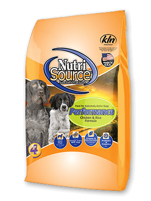 NutriSource® Dog Performance Chicken & Rice