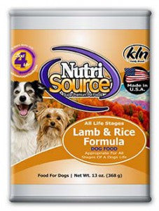 NutriSource® Lamb and Rice Formula Dog Food