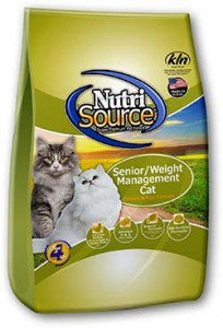 NutriSource Senior / Weight Management Cat Food