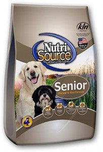 NutriSource®  Senior Dog Chicken and Rice Formula