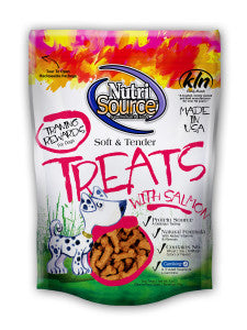 NutriSource®  Soft & Tender Salmon Treats for Dogs