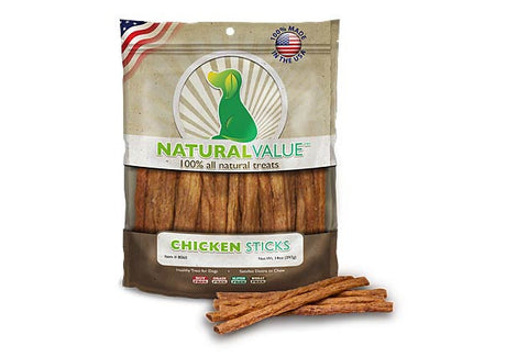 Natural Value™ Chicken Sticks for Dogs
