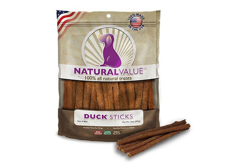 Natural Value™ Duck Meat Sticks for Dogs