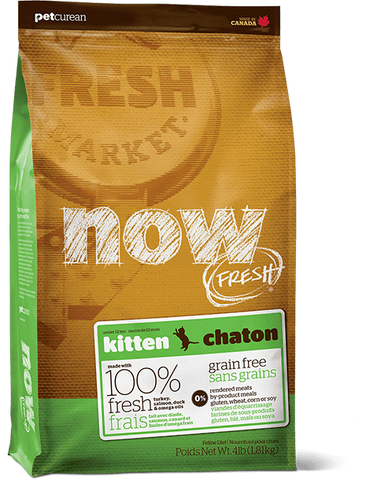 Now! Grain Free Kitten Food