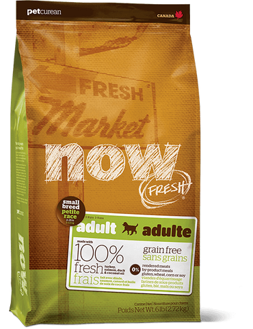 Now! Grain Free Small Breed Dog Adult Recipe