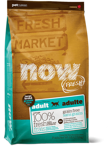 Now! Grain Free Large Breed Dog Adult Recipe