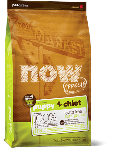 Now! Grain Free Small Breed Puppy Recipe