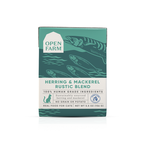 Open Farm Herring & Mackerel Rustic Blend for Cats