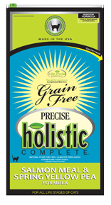Precise Holistic Complete Grain Free Salmon Meal & Spring Yellow Pea Cat Food