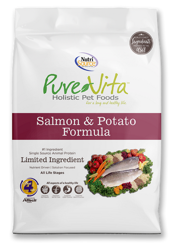 PureVita™ Salmon & Potato Entrée for Dogs
