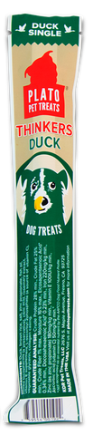 Plato Thinker Sticks - Duck Dog Treats