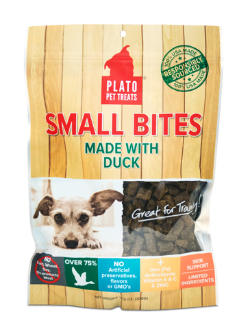 Plato Small Bites - Duck Dog Treats
