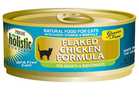 Precise Holistic Grain Free Flaked Chicken Cat Food