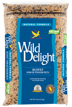 Wild Delights Buffet® For Outdoor Pets