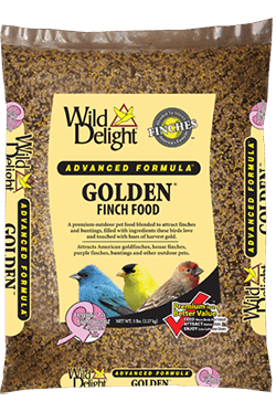 Wild Delights Golden® Finch Food