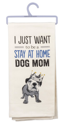 Dish Towel - Dog Mom