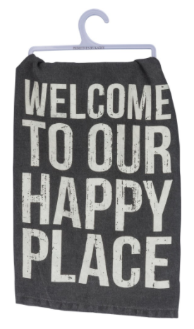 Dish Towel - Happy Place