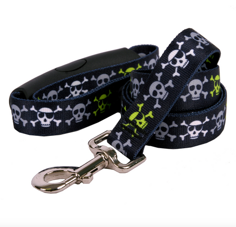 Yellow Dog - Skulls Leash