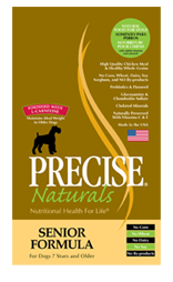 Precise Naturals Senior Dog Food
