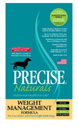 Precise Naturals Weight Management Dog Food