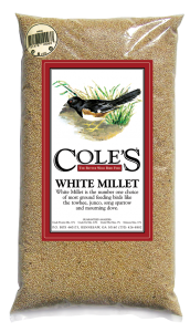Cole's White Millet Bird Seed
