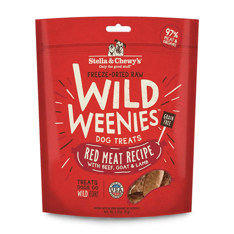 Stella & Chewy's Red Meat Wild Weenies Dog Treats
