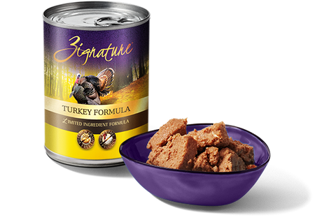 Zignature Turkey Formula Wet Dog Food