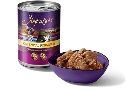 Zignature Zssentials Formula Wet Dog Food