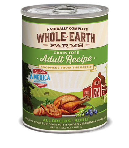 Whole Earth Farms Adult Recipe Wet Food