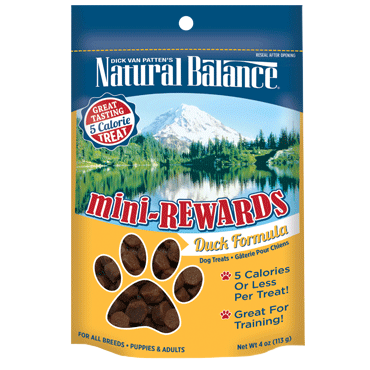Natural Balance Mini-Rewards - Duck Formula for Dogs