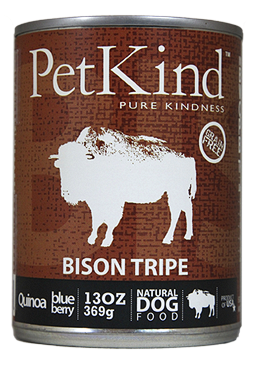 Bison Tripe Canned Formula for Dogs