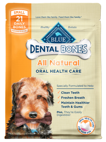 Blue Buffalo BLUE Dental Bones® Small Size for Dogs