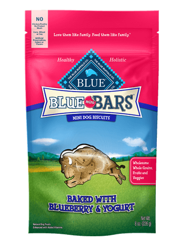Blue Buffalo BLUE Mini Bars® Blueberry & Yogurt for Dogs