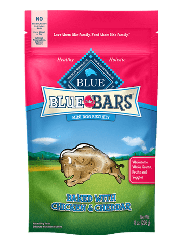 Blue Buffalo BLUE Mini Bars® Chicken & Cheddar for Dogs