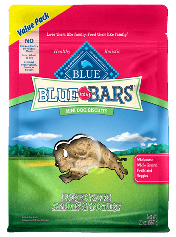 Blue Buffalo BLUE Mini Bars® Apples & Yogurt for Dogs