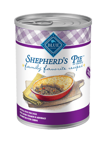 Blue Buffalo BLUE Family Favorite Recipes® Shepherd's Pie for Dogs