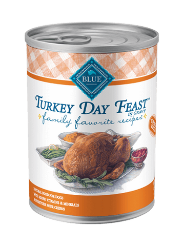 Blue Buffalo BLUE Family Favorite Recipes® Turkey Day Feast Wet Dog Food