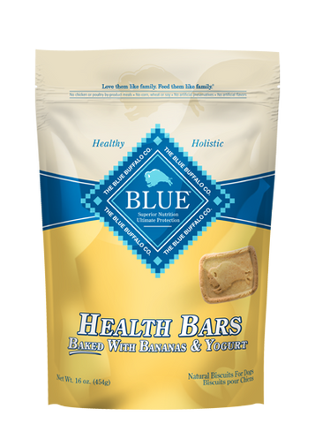 BLUE™ Health Bars Baked with Banana and Yogurt for Dogs