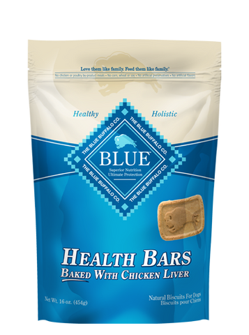 BLUE™ Health Bars Baked with Chicken Liver for Dogs