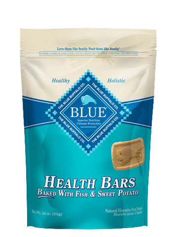 Blue Buffalo BLUE™ Health Bars Baked with Fish and Sweet Potato for Dogs