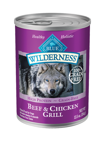 BLUE Wilderness® Beef & Chicken Grill for Dogs