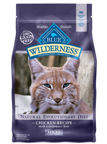 BLUE Wilderness® Chicken Recipe for Cats