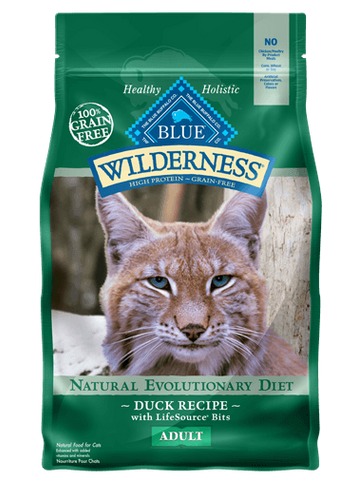 Blue Buffalo Blue Wilderness Duck Recipe for Cats