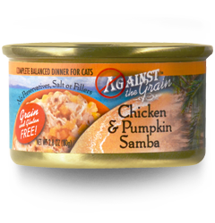 Against The Grain Chicken & Pumpkin Samba Cat Food
