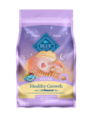 Blue Buffalo BLUE Healthy Growth Kitten Chicken & Brown Rice Recipe for Kittens