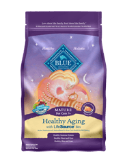 Blue Buffalo BLUE Healthy Aging Mature Chicken & Brown Rice Recipe for Mature Cats