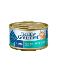 Blue Buffalo BLUE Healthy Gourmet Flaked Fish & Shrimp Entrée for Cats