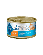 Blue Buffalo BLUE Healthy Gourmet Grilled Chicken Entrée for Adult Cats