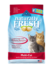 Blue Buffalo BLUE Naturally Fresh® Multi-Cat Quick-Clumping Formula